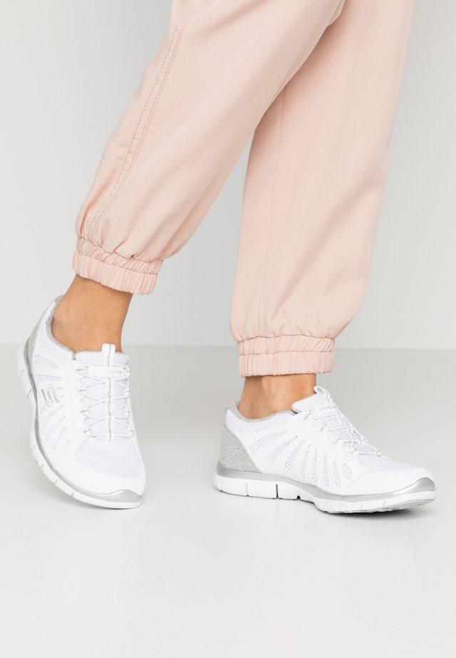 Nazouvací boty - white/light gray