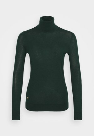 CASH PLUS TURTLENECK - Jumper - deep pine