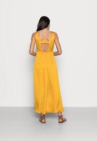 NAF NAF - PALERME - Denní šaty - moutarde - 2