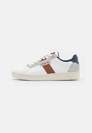 GROUND - Trainers - white/brown