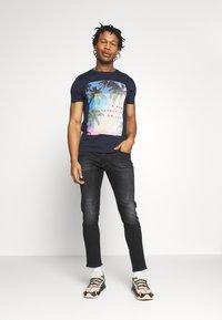 G-Star - D-STAQ 5-PKT SLIM - Slim fit jeans - elto black/medium aged faded - 1