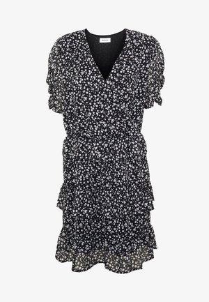 CHARLIE PRINT DRESS - Denní šaty - black