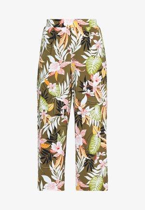 ONLLIZBETH CROPPED PANT - Spodnie materiałowe - kalamata
