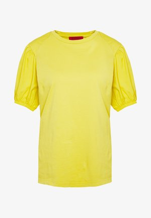 DARK - Basic T-shirt - mustard