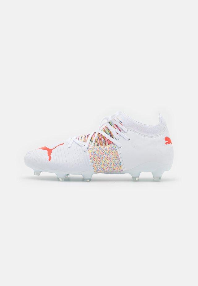 FUTURE Z 3.1 FG/AG - Voetbalschoenen met kunststof noppen - white/red blast