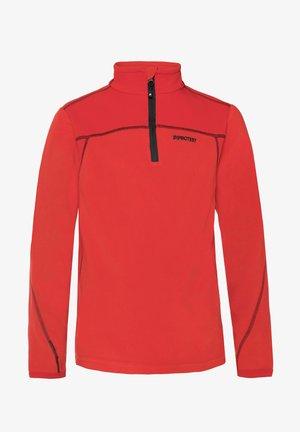 ZIP - Sports shirt - mars red