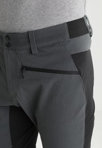 Haglöfs - RUGGED FLEX PANT MEN - Pantalones montañeros largos - magnetite/true black - 3