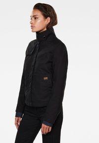 G-Star - SLIM OVER - Summer jacket - dk black - 5