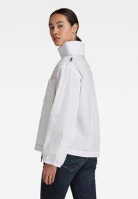 G-Star - LONG SLEEVE MOCL NECK SHIRT - Long sleeved top - white - 1