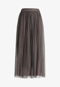 Lace & Beads - MARIKO SKIRT - Falda larga - stone - 3