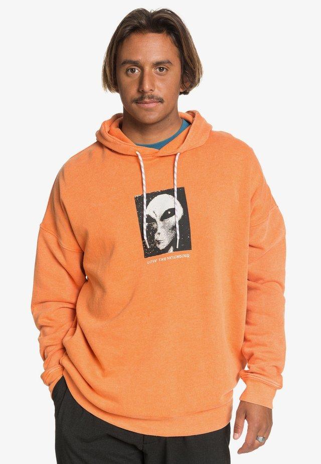 Hoodie - vibrant orange