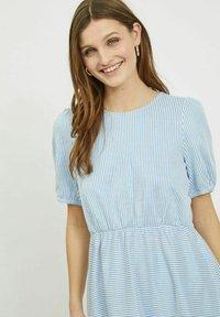 Vila - Day dress - cashmere blue - 3