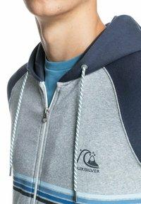Quiksilver - EVERYDAY - Zip-up sweatshirt - light grey heather - 3