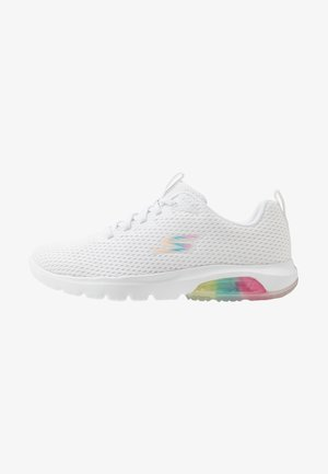 GO WALK AIR WHIRL - Neutral running shoes - white
