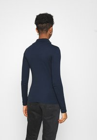G-Star - XINVA SLIM TURTLE LONG SLEEVE C - Long sleeved top - sartho blue - 2
