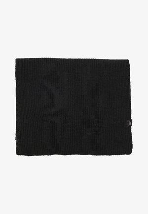 Scarf - mottled black