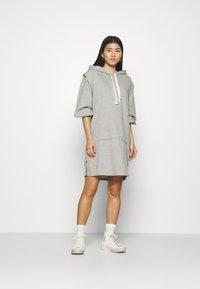 Cream - MISKA DRESS - Day dress - grey melange - 1