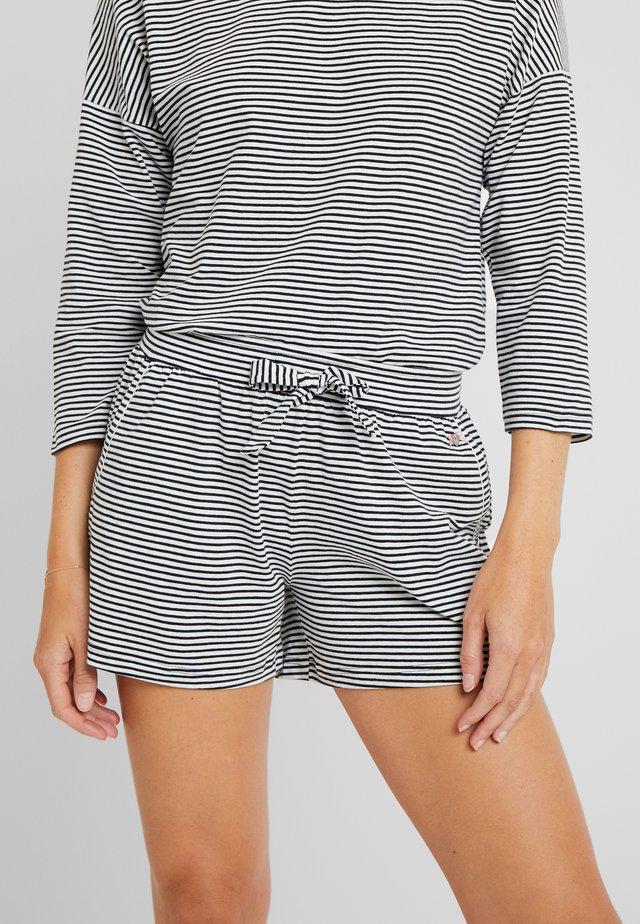 SHORTS - Pyjama bottoms - black