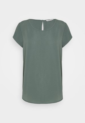 ONLNOVA LUX SOLID - Jednoduché triko - balsam green