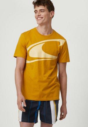 Camiseta estampada - harvest gold