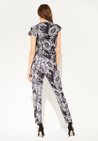 comma - PAISLEY - Jumpsuit - black aop - 2