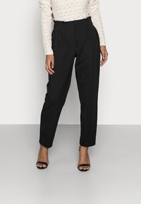 ONLY Petite - ONLHADEYA HALFRID PANT - Trousers - black - 0