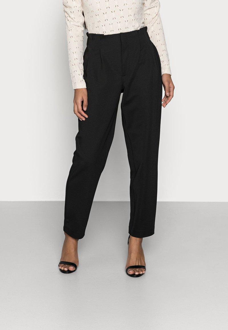 ONLY Petite - ONLHADEYA HALFRID PANT - Trousers - black