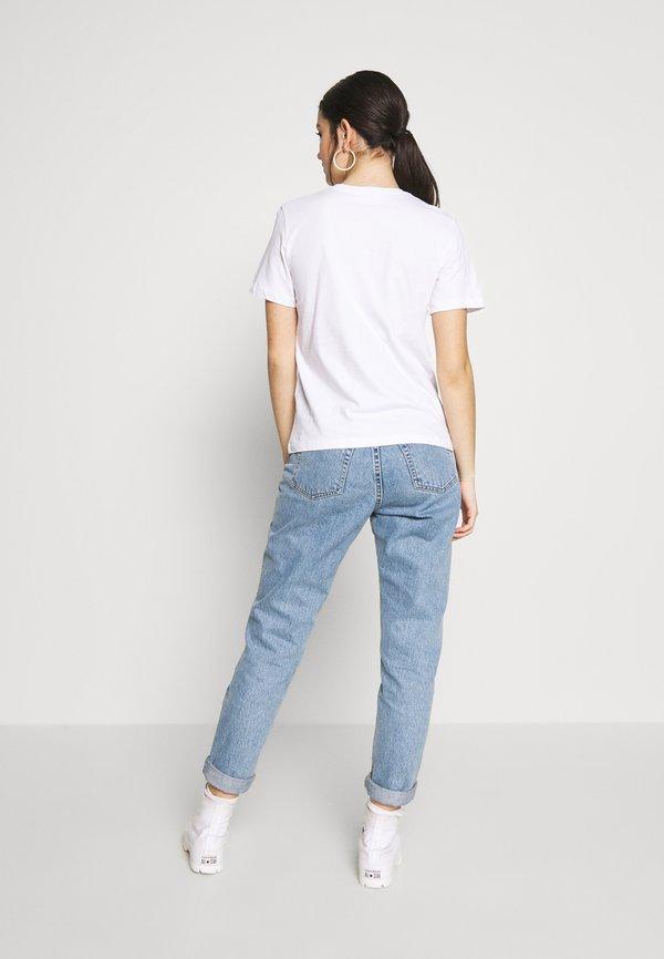 Even&Odd 2PACK - T-shirt basic - white/black Kolor jednolity Odzież Damska LKSZ NF 3