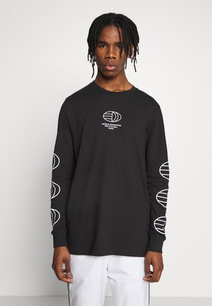 GRAPHICS GRAPHIC TEE LONG SLEEVE T-SHIRT - Pitkähihainen paita - black