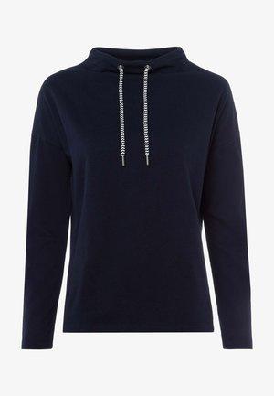 MIT STEHKRAGEN - Sweatshirt - dark blue