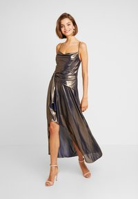 Forever New - METALLIC COWL DRESS - Occasion wear - gold - 2