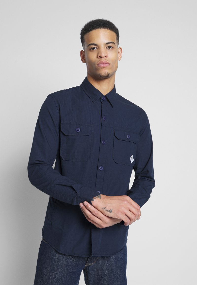 Barbour Beacon - RIPSTOP OVERSHIRT - Shirt - navy
