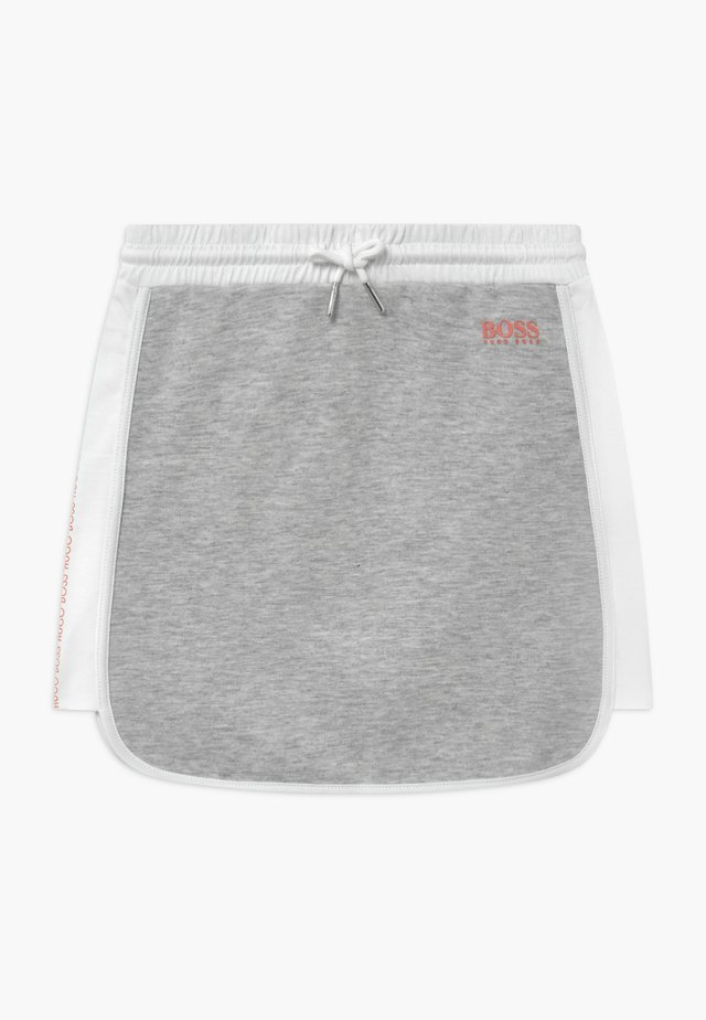Mini skirt - chine grey