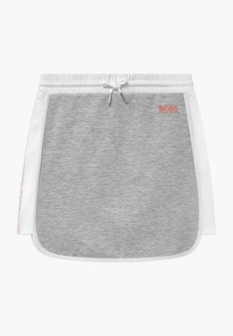 BOSS Kidswear - Minisukně - chine grey