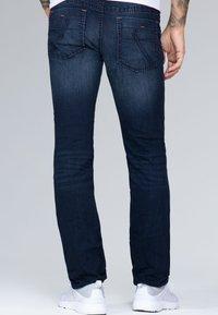 Camp David - Straight leg jeans - blue black vintage - 2