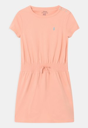 PLAY - Jersey dress - deco coral