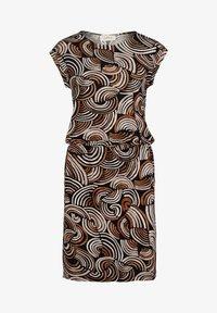 Cartoon - Day dress - schwarz/braun - 2