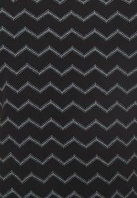 Ragwear - TAG CHEVRON - Žerzejové šaty - black - 5