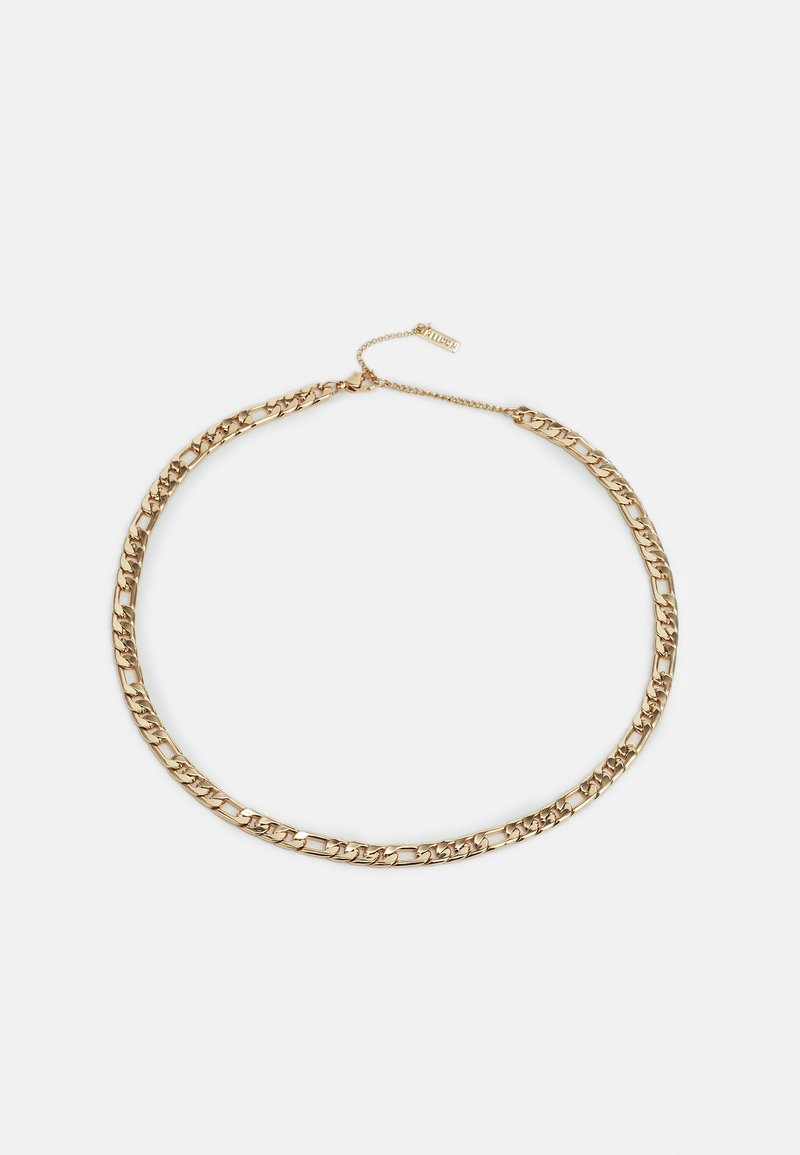 Topshop - THICK CURB CHAIN - Necklace - gold-coloured