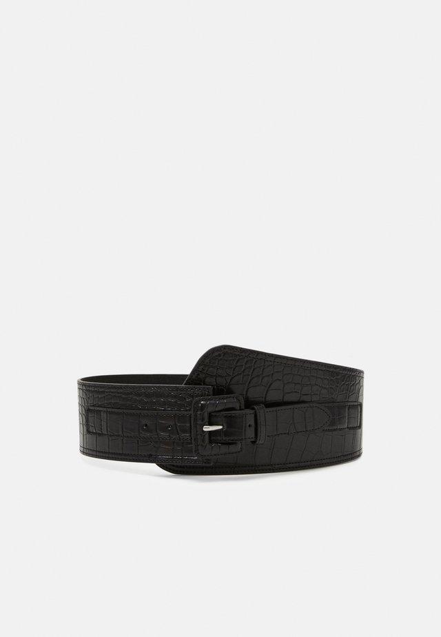 PCKAMILLO WAIST BELT - Waist belt - black
