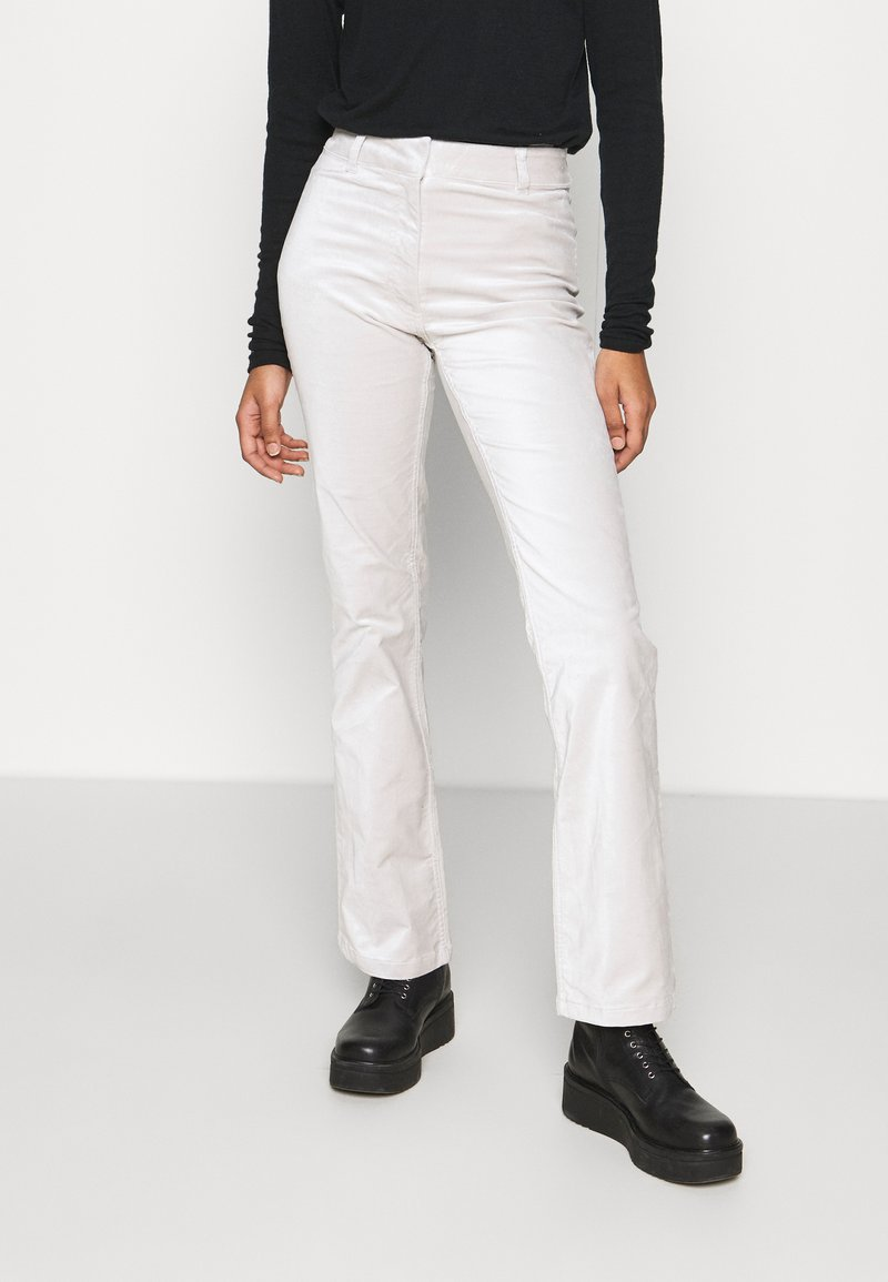 Weekday - RYDEL TROUSER - Trousers - cream