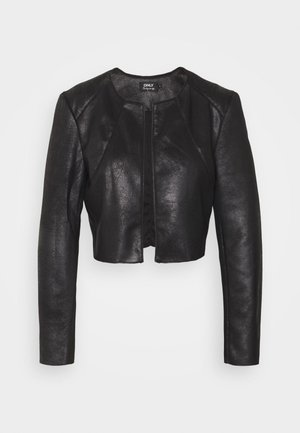 ONLNEW FAWN BOLERO - Blazer - black