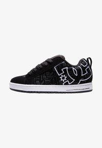 DC Shoes - Sneakers basse - black print - 0