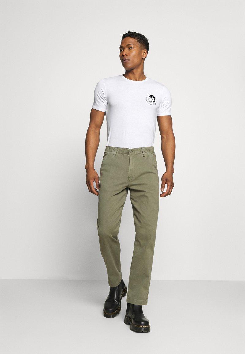 Diesel - UMTEE RANDAL 3 PACK - T-shirt basic - white/ grey melange/ black