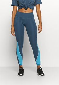 Under Armour - RUSH LEGGING - Tights - mechanic blue - 0
