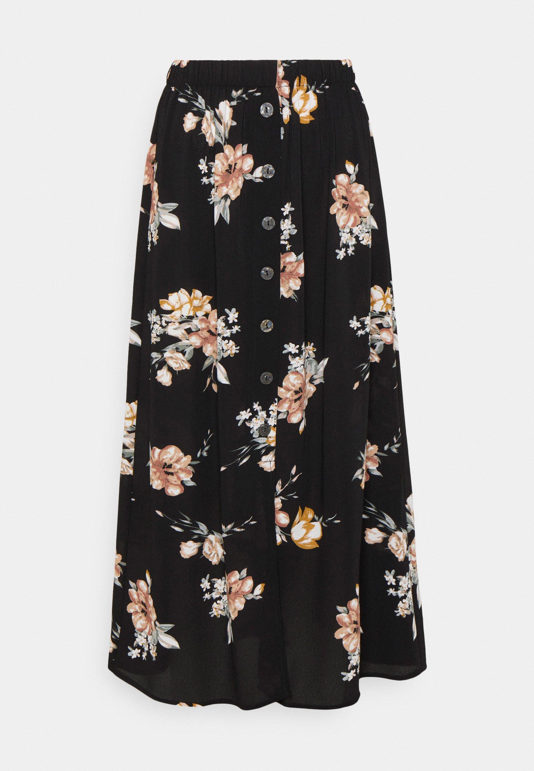 Women ONLNOVA LUX BUTTON SKIRT - A-line skirt