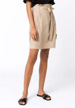 A-line skirt - hellbeige