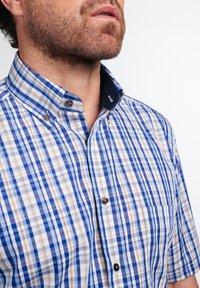 Eterna - COMFORT FIT - Shirt - beige/blau - 2