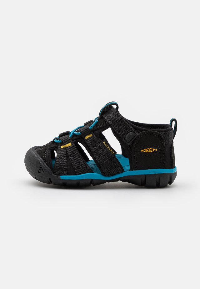 SEACAMP II CNX UNISEX - Chodecké sandály - black/yellow