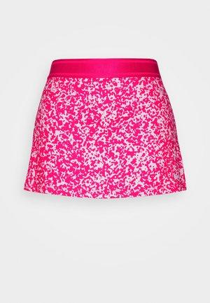 DRY SKIRT - Sportovní sukně - vivid pink/white